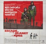 Escape From The Planet Of The Apes Original US Six Sheet