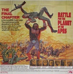 Battle For The Planet Of The Apes Original US Six Sheet