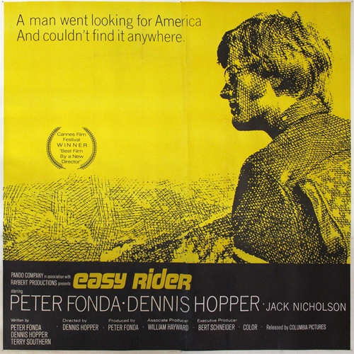 easy rider original us six sheet vintage movie poster