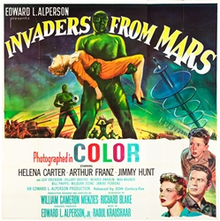 Invaders From Mars Original US Six Sheet
