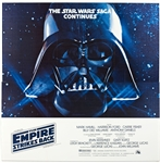 Empire Strikes Back Original US Six Sheet