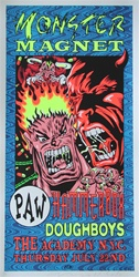 Taz Monster Magnet Original Rock Concert Poster