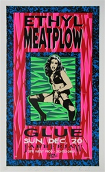 Taz Ethyl Meatplow Original Rock Concert Poster