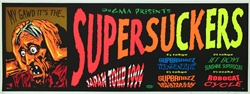 Taz Supersuckers Original Rock Concert Poster