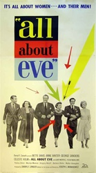 All About Eve Original US Three Sheet