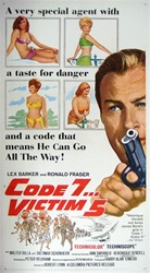 Code 7 Victim 5 Original Us Three Sheet