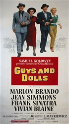 Guys and Dolls Original US Three Sheet
