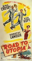 Road to Utopia Original US Three Sheet