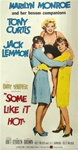 Some Like it Hot Original US Three Sheet