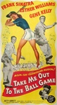 Take Me Out to the Ball Game Original US Three Sheet