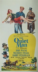 Quiet Man Original US Three Sheet