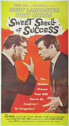 Sweet Smell of Success Original US Three Sheet