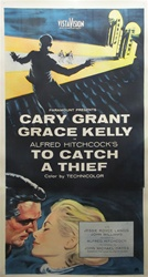 To Catch A Thief Original US Three Sheet