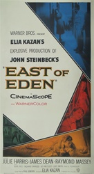 East Of Eden Original US Three Sheet