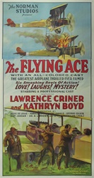 The Flying Ace Original US Three Sheet