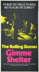 Gimme Shelter Original US Three Sheet