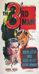 The Third Man US Three Sheet