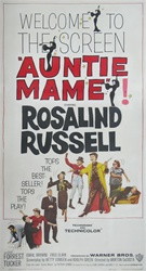 Auntie Mame US Three Sheet