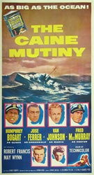 Caine Mutiny Original US Three Sheet