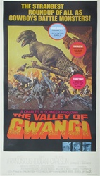 Valley Of The Gwangi US Three Sheet