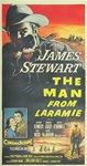 The Man From Laramie Original US Three Sheet