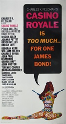 Casino Royale Original US Three Sheet