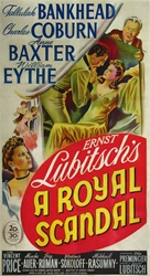A Royal Scandal Original US Three Sheet