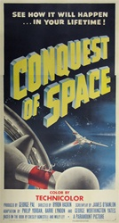 Conquest Of Space Original US Three Sheet