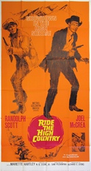 Ride the High Country Original US Three Sheet