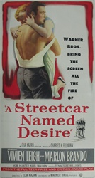 A Streetcar Named Desire Original US Three Sheet
