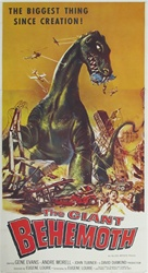 The Giant Behemoth Original US Three Sheet