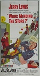 Who's Minding The Store Original US Three Sheet