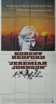 Jeremiah Johnson Original US Three Sheet