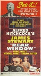 Rear Window Original US Three Sheet
