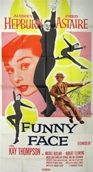 Funny Face Original US Three Sheet
