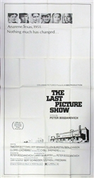 The Last Picture Show Original US Three Sheet
