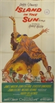 Island In the Sun Original US Three Sheet