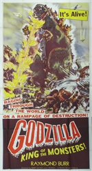 Godzilla Original US Three Sheet