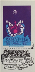 Booker T And The MG's And Tim Buckley Original Concert Ticket