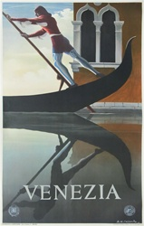 Venezia Original Travel Poster