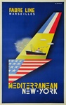 Fabre Line Original Travel Poster