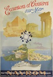 Excursions et Croisieres Original Travel Poster