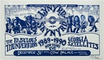 Lynyrd Skynyrd And The Fabulous Thunderbirds Original Concert Poster