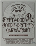 Fleetwood Mac And The Doobie Brothers Original Concert Poster