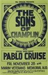The Sons Of Champlin Original Concert Poster