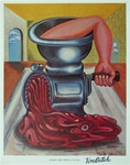 Von Dutch Good-Bye Cruel World Vintage Lithograph