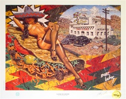 Robert Williams Carne De Amore Limited Edition Lithograph
