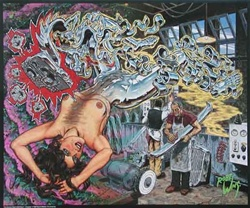 Robert Williams Chrome Platers Wet Dream Poster
