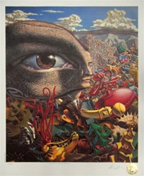 Robert Williams in the Land of Retinal Delights Limited Edition Lithograph