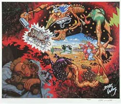 Robert Williams Mirage of Daughterly Fears Limited Edition Lithograph
